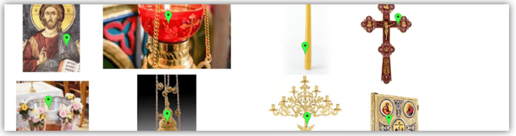 Biserica este casa lui Dumnezeu – <I>Potrivire pe imagini</I> – Autor: Prof. Cornelia Mihaela BUŞIU GAVRILĂ, Şcoala Gimnazială Negoi,  2020