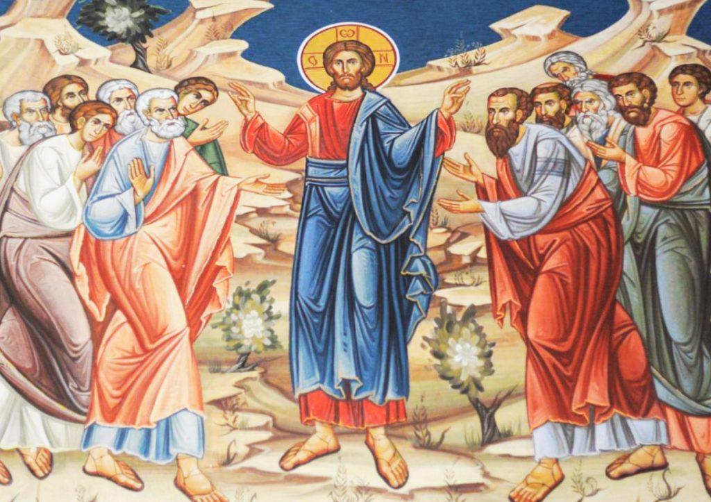 """Sfinţii Apostoli sunt modele de credinţă – """"Stabilește corespondența"""" – Autor: Prof. Ionuţ Cătălin CIUREA, Liceul """"Tehnologic Turburea"""" Gorj, 2020"""