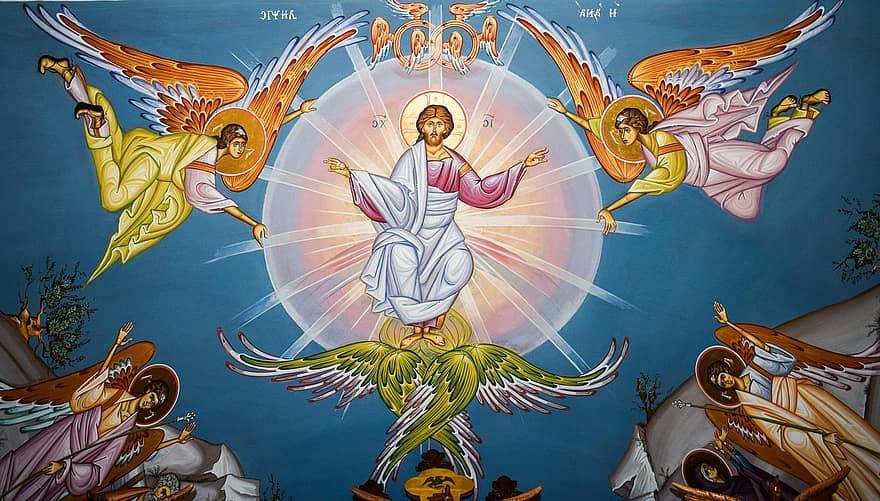"""Iisus Hristos S-a făcut Om, din iubire pentru oameni – """"Adevărat-Fals"""" – Autor: Prof. Costinel DIACONU, Școala Gimnazială Crușeț, Gorj, 2020"""