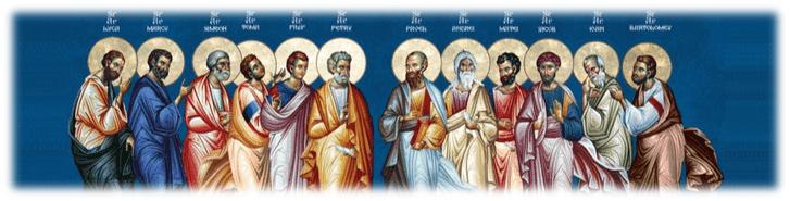 Sfinţii Apostoli sunt modele de credinţă – <i>Alegere multiplă</i> – Autor: Prof. Ionuţ Cătălin CIUREA, Liceul <i>Tehnologic Turburea</i> Gorj, 2020