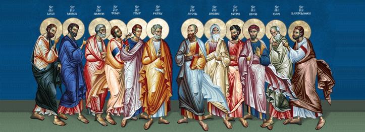 """Sfinţii Apostoli sunt modele de credinţă – """"Alegere multiplă"""" – Autor: Prof. Ionuţ Cătălin CIUREA, Liceul """"Tehnologic Turburea"""" Gorj, 2020"""