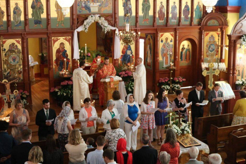 """Creștinii din biserica mea – """"Potrivire pe imagini""""- Autor: Prof. Geanina BOATĂ, Școala Gimnazială Unirea, județul Dolj, 2020"""