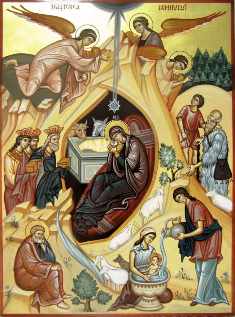 """Nașterea Domnului – prilej de bucurie pentru creștini –""""Ordonează perechi"""" – Autor: Arhid. Prof. Nicușor LĂZĂRICĂ, Liceul Teologic Târgu-Jiu, 2020"""