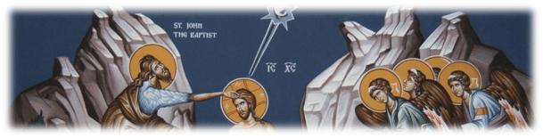 Botezul Domnului – <i>Găsește cuvântul</i> – Autor: Prof. Maria OLARIU, Școala Gimnazială <i>Ion Creangă</i>, Craiova, Dolj, 2020