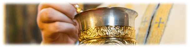 Primirea lui Hristos prin Sfânta Împărtăşanie – <i>Găsește cuvântul</i> – Autor: Prof. Claudia IVAŞCU, Liceul Teoretic <i>Henri Coandă</i>, Craiova, 2020
