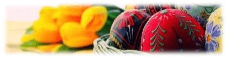 1. Tradiții religioase de Florii, Paști și Rusalii